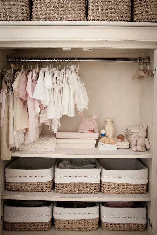 Dicas da arquiteta como organizar com caixas e cestas minha casa minha lida - Armarios de bebe ...