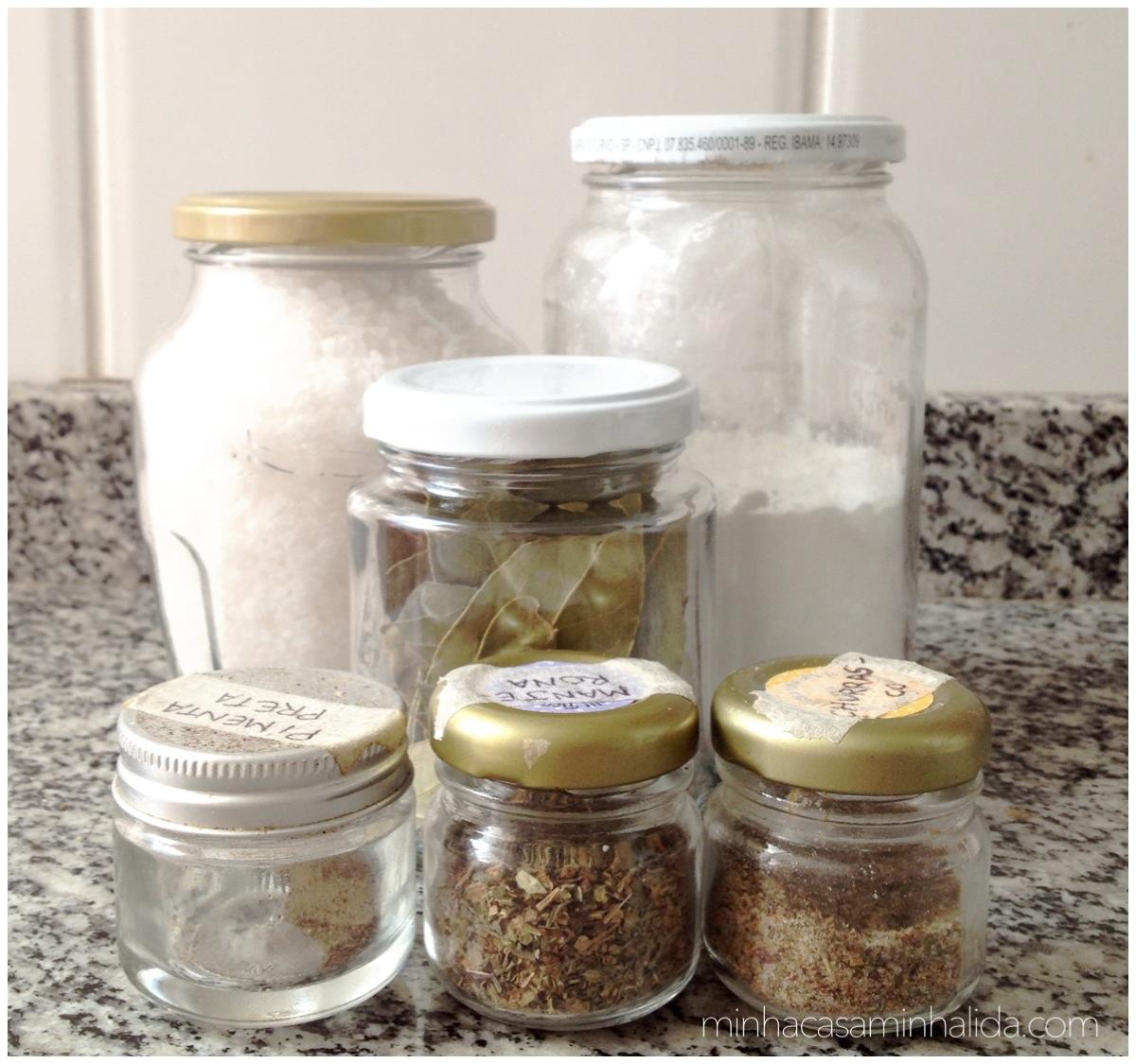 Potes De Vidro Minha Casa Minha Lida ~ Potes Decorativos Para Cozinha